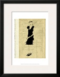 Flapper Fashion III Prints by Elissa Della-piana