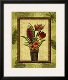 Paradisio Bouquet II Prints by Charlene Audrey