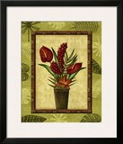 Paradisio Bouquet I Print by Charlene Audrey