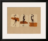 Silhouettes of Africa Prints by Charlotte Derain