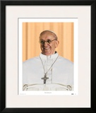 Papa Franciscus Poster by Maurilio Boldrini