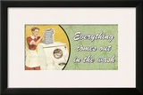 Everything Comes Out in the Wash Posters by Kate Ward Thacker
