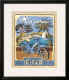 Riviera Posters by Charlene Audrey