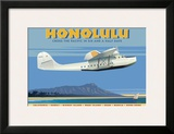 Honolulu Prints by David Grandin