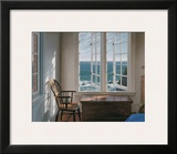 Corner Room Print by Edward Gordon
