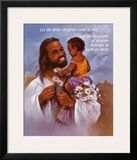 Christ with Child Prints by  Lopez