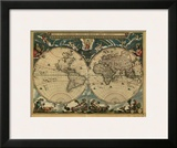 World Map, c.1664 Prints