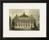 The Grand Opera House, Paris Prints by T. Allom
