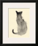 Cat from the back Prints by Aurore De La Morinrie