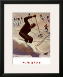 Kristiania, The Swing Posters by Alfons Walde