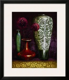 Persian Gardens IV Posters by Selina Werbelow