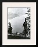 Praying to the Spirits at Crater Lake, Klamath Prints by Edward S. Curtis