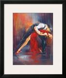 Tango Nuevo II Print by Pedro Alverez