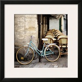 Cafe Bicycle Prints by Marc Olivier