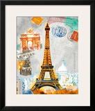 Paris Vintage Posters by Robin Jules