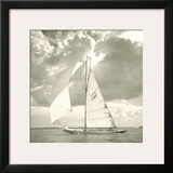 Sunlit Sails I Prints by Michael Kahn