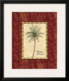 Red Passion Palm I Prints by Charlene Audrey