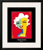 Monroe Poster by David Cowles
