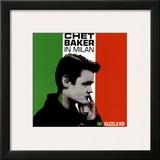 Chet Baker in Milan Print