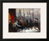 Abstract VI Print by William Haenraets