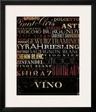 Vino Type Art by Stephen Fowler