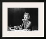 Marilyn Monroe, Back Stage Prints by Sam Shaw