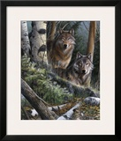 Watchful Eyes Prints by Kevin Daniel