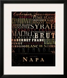 Napa Type Posters by Stephen Fowler