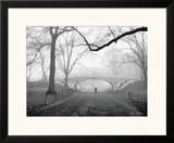 Gothic Bridge, Central Park, New York City Prints by Henri Silberman