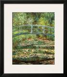 Puente japonés Posters por Claude Monet