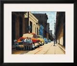 Cuban Street Scene Posters by Samuel Toranzo