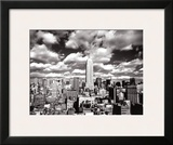 New York, New York, Sky Over Manhattan Prints by Henri Silberman