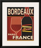 Bordeaux Print