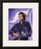 Johnny Cash Prints by Ingrid Black