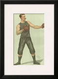 Vanity Fair Boxing Posters by  Spy (Leslie M. Ward)