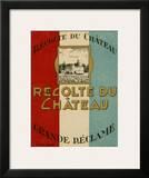 Recolte Du Chateau Posters