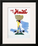 Come to Haiti Prints by E. Lafond