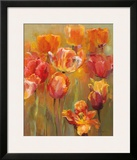 Tulips in the Midst II Poster by Marilyn Hageman