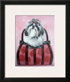Shih-tzu Purse Prints by Carol Dillon
