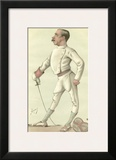 Vanity Fair Fencing Prints by  Spy (Leslie M. Ward)