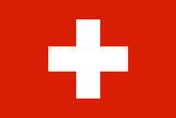 Switzerland National Flag Plastic Sign Znaki plastikowe