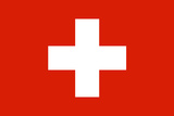 Switzerland National Flag Plastic Sign Plastic Sign