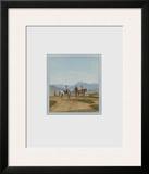 Riders at Tegernsee Prints by Wilhelm Alexander Wolfgan Von Kobell