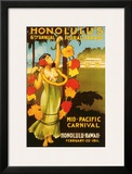 Mid Pacific Carnival, 6th Floral Parade c.1911 Framed Giclee Print
