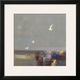 Wild and Free Framed Giclee Print by Ele Pack