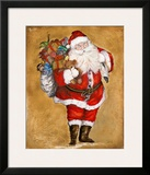 Jolly Night on Gold Prints by Patricia Quintero-Pinto