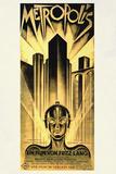Metropolis Movie Fritz Lang Plastic Sign Signes en plastique rigide