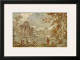 Rom, Villa Strozzi Prints by Charles Joseph Natoire