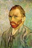Vincent Van Gogh Self Portrait 1 Plastic Sign Plastic Sign by Vincent van Gogh