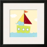 Sailboat Adventure IV Prints by Erica J. Vess